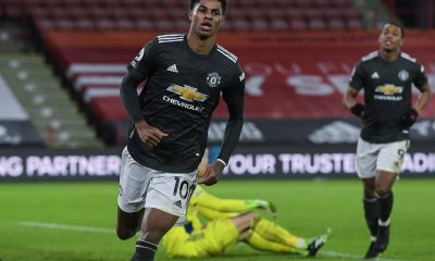 Marcus Rashford scored a brace as Manchester United defeated Sheffield United