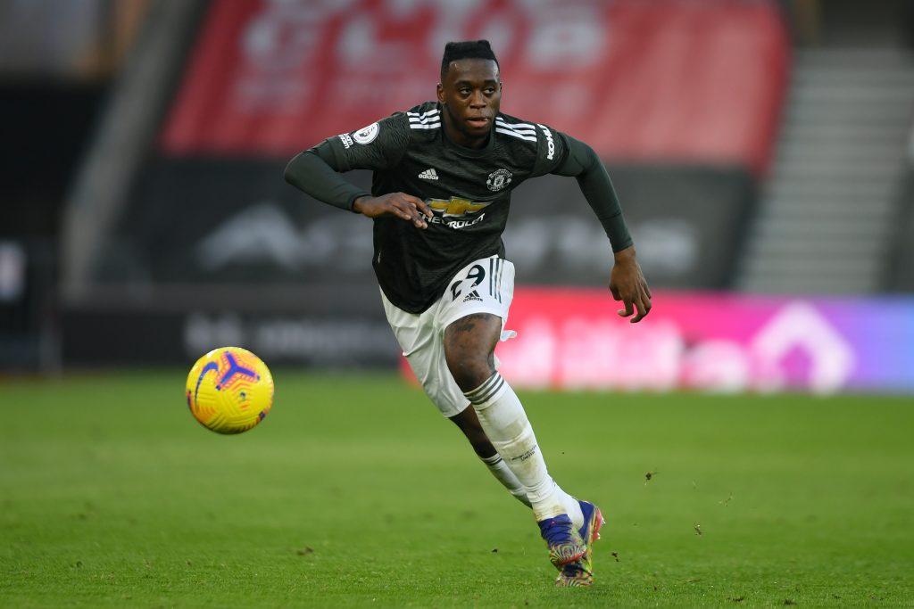 Aaron Wan-Bissaka is not great going forward