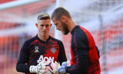 Dean Henderson is behind David de Gea in the pecking order. (GETTY Images)