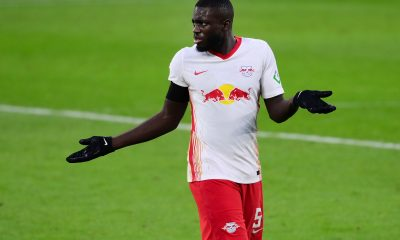 Dayot Upamecano in action for RB Leipzig. (GETTY Images)