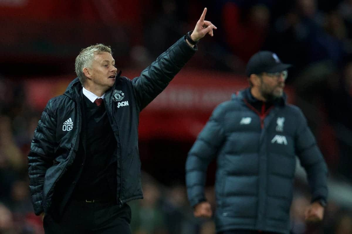 United held firm against Liverpool at Anfield
