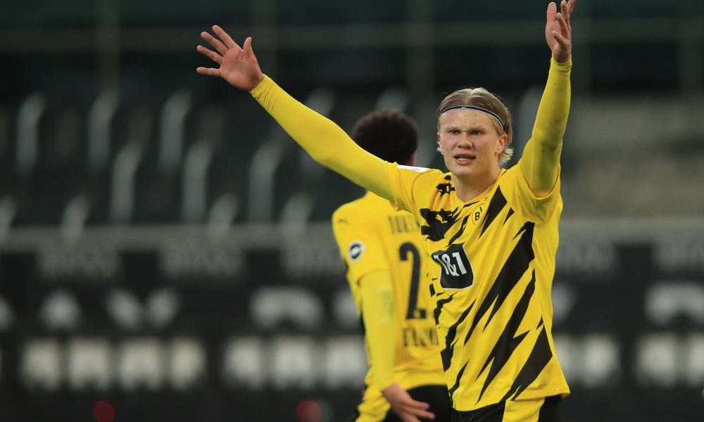 Dortmund slap staggering €200m valuation on Erling Haaland to fend off Man United