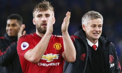 Luke Shaw has stepped up his game since Alex Telles's arrival