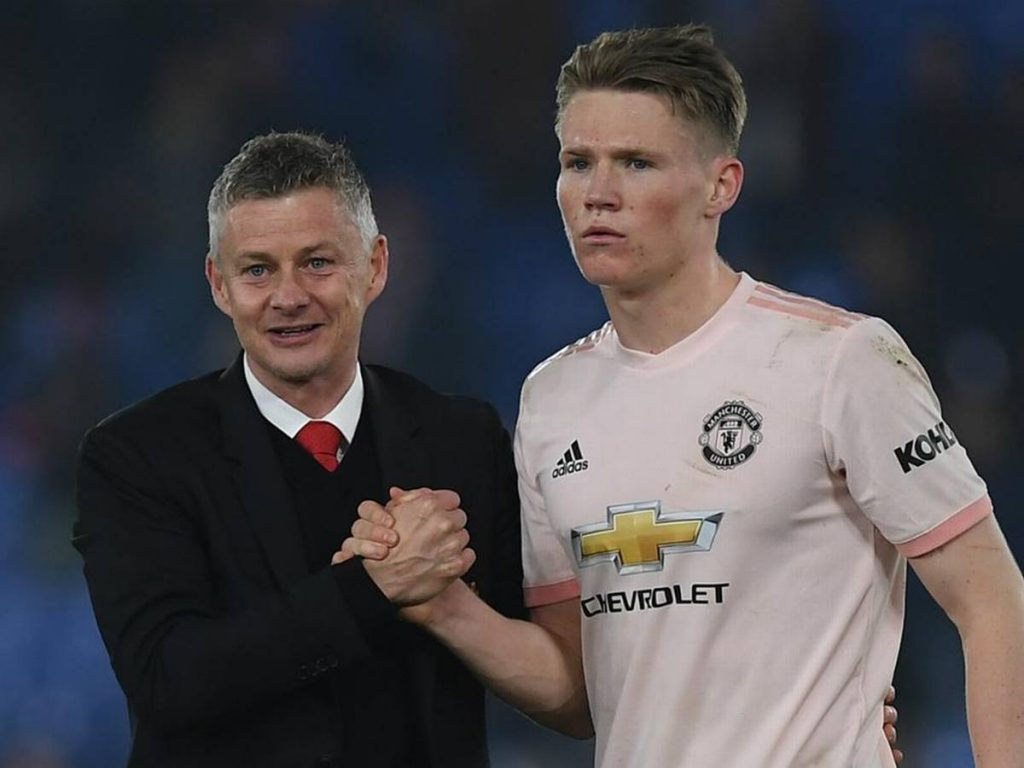 Solskjaer full of praise for McTominay (GETTY Images)