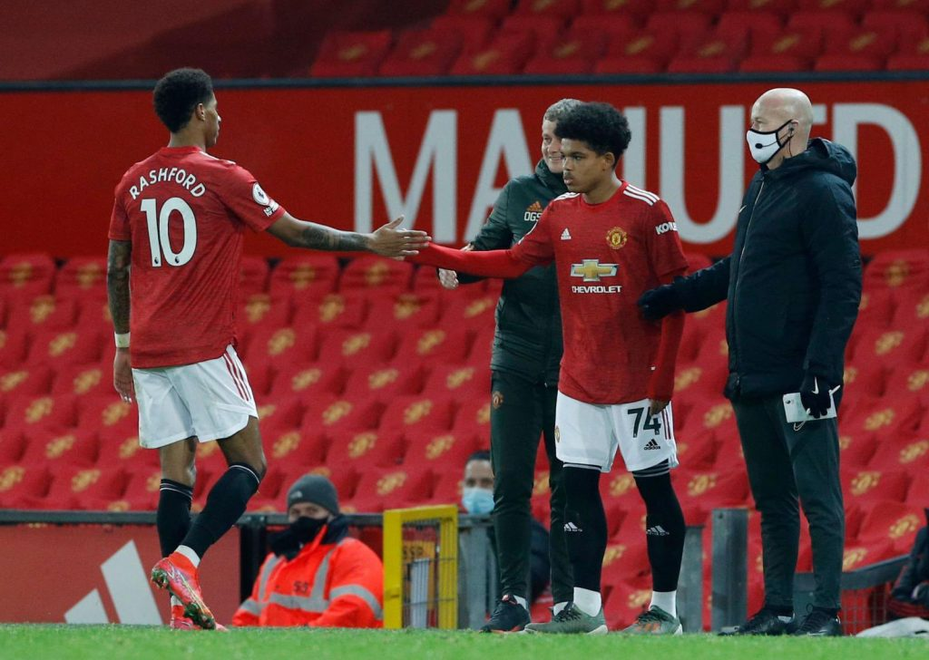 Solskjaer and Rashford respond to Shola Shoretire making his Manchester United first team bow