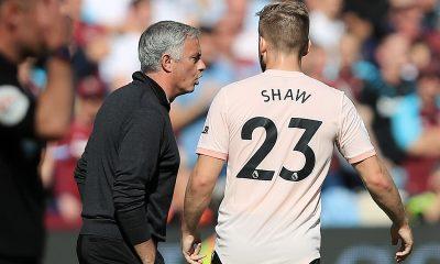 Luke Shaw revealed his struggles under former Manchester United manager Jose Mourinho. (GETTY Images)