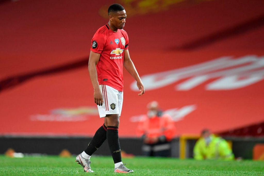 Martial scored a brace against Southampton