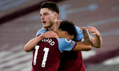 West Ham United not keen to include Declan Rice in negotiations for Manchester United star Jesse Lingard