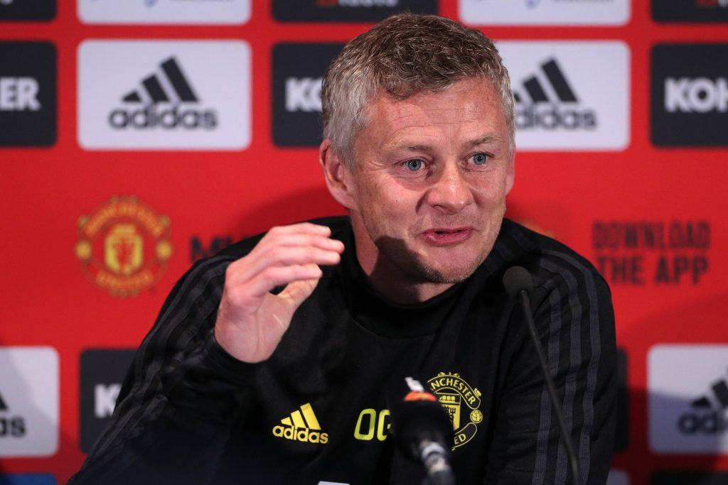 Manchester United boss, Ole Gunnar Solskjaer has aimed a dig at Liverpool ahead of the clash at Old Trafford later tonight.