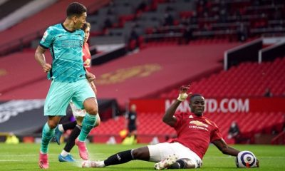 Manchester United vs Liverpool Eric Bailly and Victor Lindelof struggled